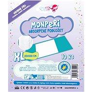 MonPeri Podložky veľ. XL (10 ks) - Prebaľovacia podložka