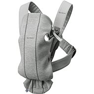 Babybjörn nosidlo MINI Light Grey 3D Jersey - Nosič