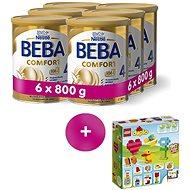 BEBA COMFORT 4 (6× 800 g) - Dojčenské mlieko