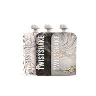 TWISTSHAKE Plniteľná kapsička 3× 100 ml – mramorovo sivá - Plniteľná kapsička