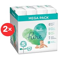 PAMPERS Pure Protection vel. 5 (2×96 ks)