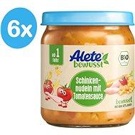 ALETE BIO Cestoviny so šunkou v zeleninovej omáčke 6× 250 g - Detský príkrm