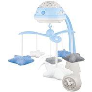 CANPOL BABIES Kolotoč hviezdičky – modrý - Kolotoč nad postieľku