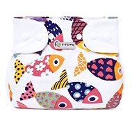 T-tomi Abdukčné nohavičky – patentky, fun fish (3 – 6 kg)