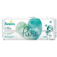 Detské vlhčené obrúsky PAMPERS Aqua Pure duo 2× 48 ks