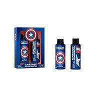 AIRVAL Captain America Set 450 ml - Darčeková sada