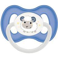 Canpol babies Cumlík kaučukový 0 – 6 mesiacov modrý