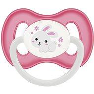 Canpol babies Cumlík kaučukový 6 – 18 mesiacov ružový