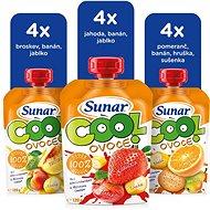 Sunárek cool ovocie – mix kartón II 12× 120 g - Príkrm