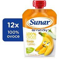 Sunárek Do ručičky banán 12× 100 g