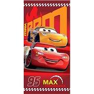 Jerry Fabrics osuška – Cars 95 red - Detská osuška