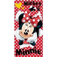 Jerry Fabrics osuška – Minnie Red - Detská osuška