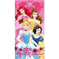 Jerry Fabrics Bath Towel - Princess heart - Children's Bath Towel
