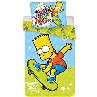 Jerry Fabrics posteľné obliečky – Bart on Skate - Detská posteľná bielizeň