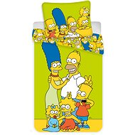 """Jerry Fabrics posteľná bielizeň – The Simpsons Family """"Green"""" - Detská posteľná bielizeň"""