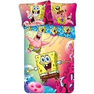 Jerry Fabrics posteľná bielizeň – Spongebob - Detská posteľná bielizeň