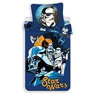 Jerry Fabrics posteľná bielizeň – Star Wars blue - Detská posteľná bielizeň