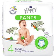 Bella Happy Pants Maxi 24 ks - Plienkové nohavičky