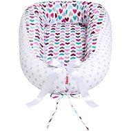 Scamp Hnízdo soft - Heart - Hniezdočko pre bábätko