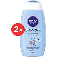 NIVEA Baby Cream Bath 2× 500 ml - Detská pena do kúpeľa