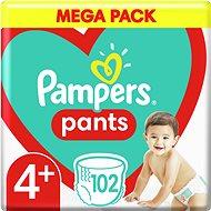 Plienkové nohavičky Pampers Pants Maxi+ veľ. 4+ (102 ks) – Mega Box