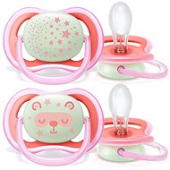 Philips AVENT Night Soother 6-18m, Girl, 2pcs - Dummy