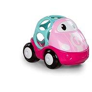 Oball autíčko pretekárske Lily ružové 18 m+ - Hračka pre najmenších