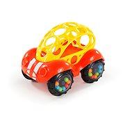 Oball Rattle & Roll červeno/žlté 3 m+ - Hračka pre najmenších