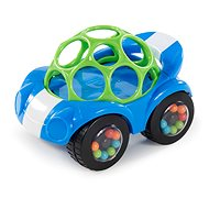 Oball Rattle & Roll modro/zelené 3 m+ - Hračka pre najmenších