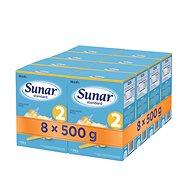 Sunar Standard 2, 8× 500 g - Dojčenské mlieko