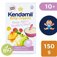Kendamil Bio / organická ovsená kaša s ovocím (mango, jablko, malina) 150 g - Nemliečna kaša