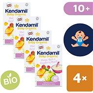 Kendamil Bio/organická ovsená kaša s ovocím 4× 150 g