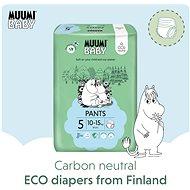 MUUMI BABY Walkers Maxi+ veľkosť 5 – mesačné balenie (114 ks) - Eko plienkové nohavičky
