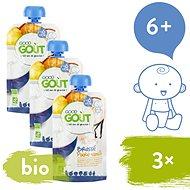 Good Gout BIO Vanilkový jogurt s hruškou 3× 90 g - Príkrm