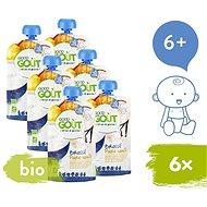 Good Gout BIO Vanilkový jogurt s hruškou 2× (3× 90 g) - Príkrm