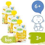 Good Gout BIO Pear Breakfast 3 × 70g - Baby Food
