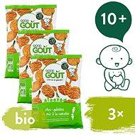 Good Gout BIO Mini ryžové koláčiky s mrkvou 3× 40 g - Chrumky pre deti