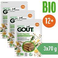 Good Gout Mini bagetky s rozmarínom a syrom 3× 70g - Chrumky pre deti