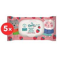 DADA Detský vlhčený toaletný papier Kids 5× 60 ks