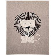 Petite&Mars Harmony Brave Lion 80×100 cm - Deka do kočíka