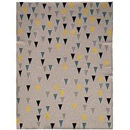 Petite&Mars Harmony Happy Triangles 80×100 cm - Deka do kočíka