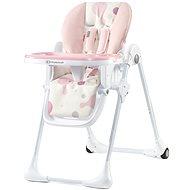 Kinderkraft YUMMY pink - Stolička na kŕmenie
