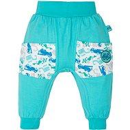 Gmini Bager nohavice s vreckami bez ťapiek 98 - Nohavice pre bábätko