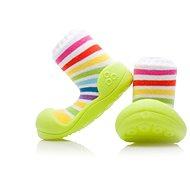 ATTIPAS Topánočky RainBow AR04 Green veľkosť S (96 až 108 mm) - Detské topánočky