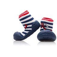 ATTIPAS Topánočky veľ. Marine Avel. M01-Anchor (red) veľ. XL (126 – 135 mm) - Detské topánočky