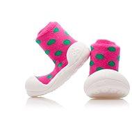 ATTIPAS Polka Dot Pink - Detské topánočky