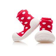 ATTIPAS Topánočky Polka Dot AD06-Red veľ. S (96 – 108 mm) - Detské topánočky