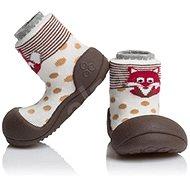 ATTIPAS Zoo Brown - Detské topánočky
