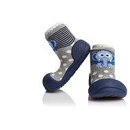 ATTIPAS Topánočky Zoo AZO02 Navy veľkosť L (116 až 125 mm) - Detské topánočky