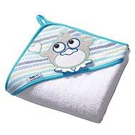 BabyOno osuška s kapucňou - biela - Osuška pre bábätká